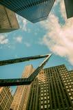 Beeldhouwwerk in NYC Stock Foto