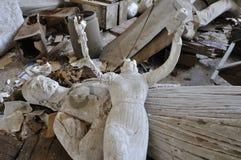 Beeldhouwwerk oude godin zonder hoofd Royalty-vrije Stock Afbeeldingen