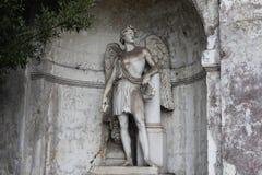Beeldhouwwerk in Rome Stock Afbeeldingen