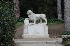 Beeldhouwwerk in Rome Stock Foto's