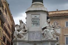 Beeldhouwwerk in Rome Royalty-vrije Stock Afbeeldingen