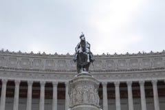Beeldhouwwerk in Rome Royalty-vrije Stock Foto