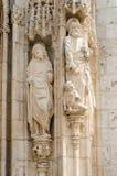Beeldhouwwerk in steen Stock Afbeeldingen