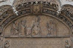Beeldhouwwerk in steen Royalty-vrije Stock Afbeelding