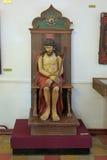 Beeldhouwwerk van Christus Stock Foto's
