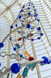 Beeldhouwwerk van de schroef van DNA (spiraal) Royalty-vrije Stock Afbeelding