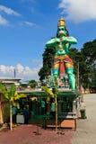 Beeldhouwwerk van een Hindoese god Stock Foto's