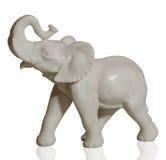 Beeldhouwwerk van een olifant Royalty-vrije Stock Afbeelding