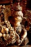 Beeldhouwwerk van Ganesh stock foto's