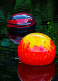 Beeldhouwwerk van het Chihuly het drijvende glas royalty-vrije stock foto