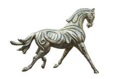 Beeldhouwwerk van het paard stock fotografie