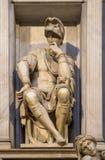 Beeldhouwwerk van Lorenzo II DE Medici op zijn graf, Florence, Italië royalty-vrije stock afbeeldingen