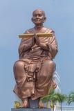Beeldhouwwerk van Luang Phor Toh Stock Foto's