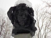 Beeldhouwwerk van Pushkin Royalty-vrije Stock Foto