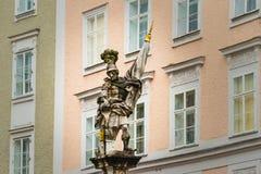 Beeldhouwwerk van Salzburg Stock Foto