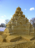 Beeldhouwwerk van zand Royalty-vrije Stock Foto