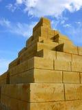 Beeldhouwwerk van zand Stock Afbeelding