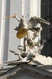 Beeldhouwwerk in Wenen royalty-vrije stock foto's