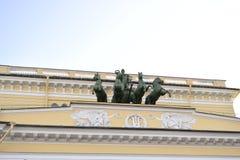 Beeldhouwwerkdecoratie Royalty-vrije Stock Foto's