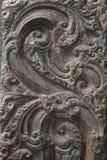 Beeldhouwwerken in de tempel Royalty-vrije Stock Foto