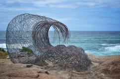 Beeldhouwwerken door de Overzeese tentoonstelling, Sydney, Australaia stock afbeeldingen