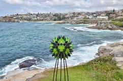 Beeldhouwwerken door de Overzeese tentoonstelling, Sydney, Australaia royalty-vrije stock foto