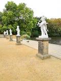 Beeldhouwwerken in het park van Charlottenburg, Berlijn royalty-vrije stock fotografie
