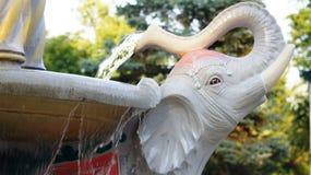 Beeldhouwwerken van olifant Royalty-vrije Stock Foto