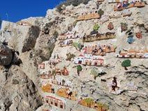 Beeldhouwwerkpark in Aya Napa, Cyprus royalty-vrije stock afbeelding