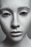 Beeldhouwwerkvrouw Mannequin met perfecte Huid Royalty-vrije Stock Afbeeldingen