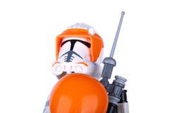 Beeldje Star Wars Stormtrooper Royalty-vrije Stock Fotografie
