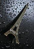 Beeldje van de toren van Eifel stock foto