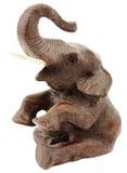 Beeldje van olifant royalty-vrije stock foto's