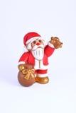Beeldje van Santa Claus Stock Foto's