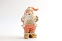 Beeldje van Santa Claus (Kerstmisthema) royalty-vrije stock afbeeldingen