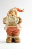 Beeldje van Santa Claus (Kerstmisthema) royalty-vrije stock fotografie