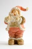 Beeldje van Santa Claus (Kerstmisthema) stock afbeelding