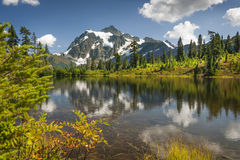 Beeldmeer, MT Nationaal Bos bakker-Snoqualmie royalty-vrije stock afbeelding