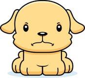 Beeldverhaal Boos Puppy Stock Afbeelding