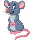 Beeldverhaal gelukkige muis royalty-vrije illustratie