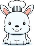 Beeldverhaal Glimlachende Chef-kok Bunny vector illustratie