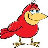 Beeldverhaal het glimlachen vogel Royalty-vrije Stock Afbeeldingen