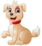 Beeldverhaal leuke hond vector illustratie