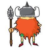 Beeldverhaal Viking Stock Afbeelding