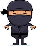 Beeldverhaal Weinig Ninja royalty-vrije illustratie