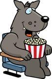 Beeldverhaal Wolf Movie vector illustratie