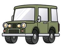 Beeldverhaalauto Royalty-vrije Stock Foto