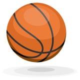 Beeldverhaalbasketbal royalty-vrije stock afbeelding