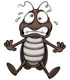 Beeldverhaalkakkerlak stock illustratie