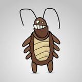Beeldverhaalkakkerlak Stock Fotografie